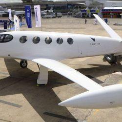 Alice es un avión de pequeño tamaño, con espacio para solo nueve plazas.