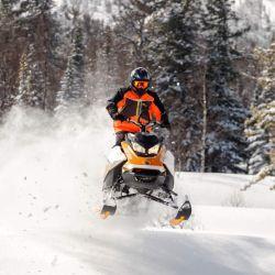 Adrenalina pura sobre la nieve.