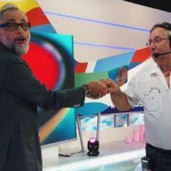Jorge Rial junto a Miguel Villar