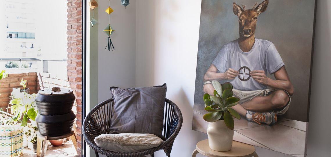 Tres ambientes en clave minimalista y sustentable