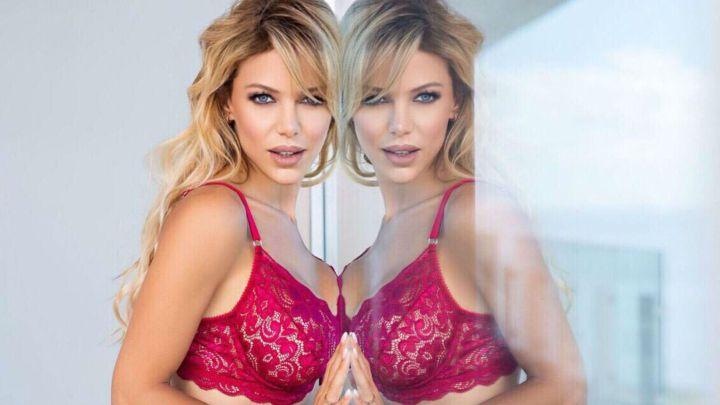 Evangelina Anderson súper sexy en una nueva campaña de ropa interior