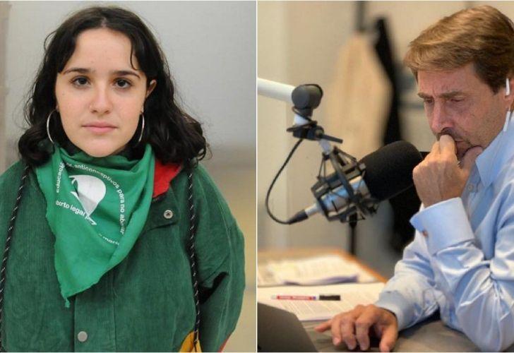 Eduardo Feinmann cuestionó a Ofelia Fernández y ella le respondió en sus redes sociales.