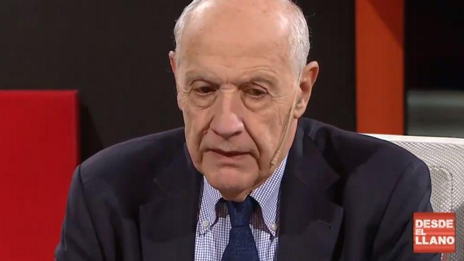 El precandidato presidencial Roberto Lavagna (Consenso Federal)