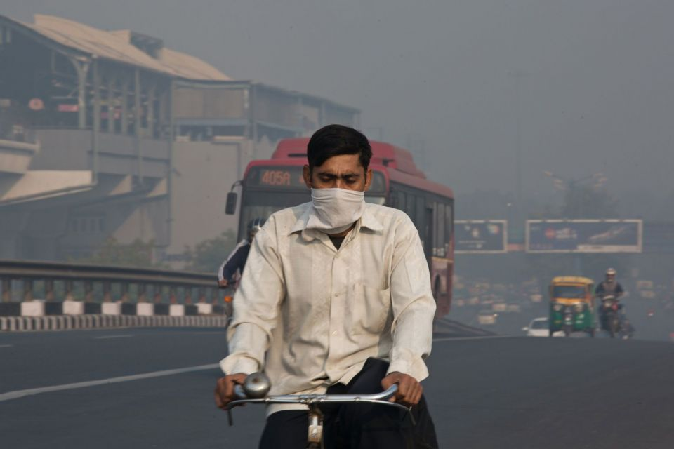 World's Worst Air Pollution Spikes