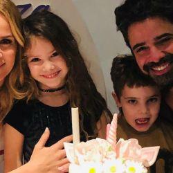El cumpleaños de la hija de Sabrina Rojas y Luciano Castro