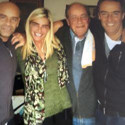 Falleció el padre de Raquel Mancini
