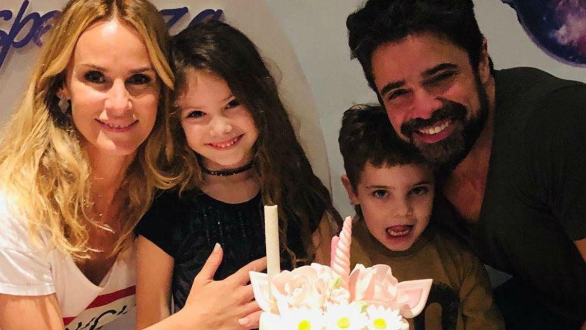 El excéntrico cumpleaños de Esmeralda, la hija de Sabrina Rojas y Luciano Castro