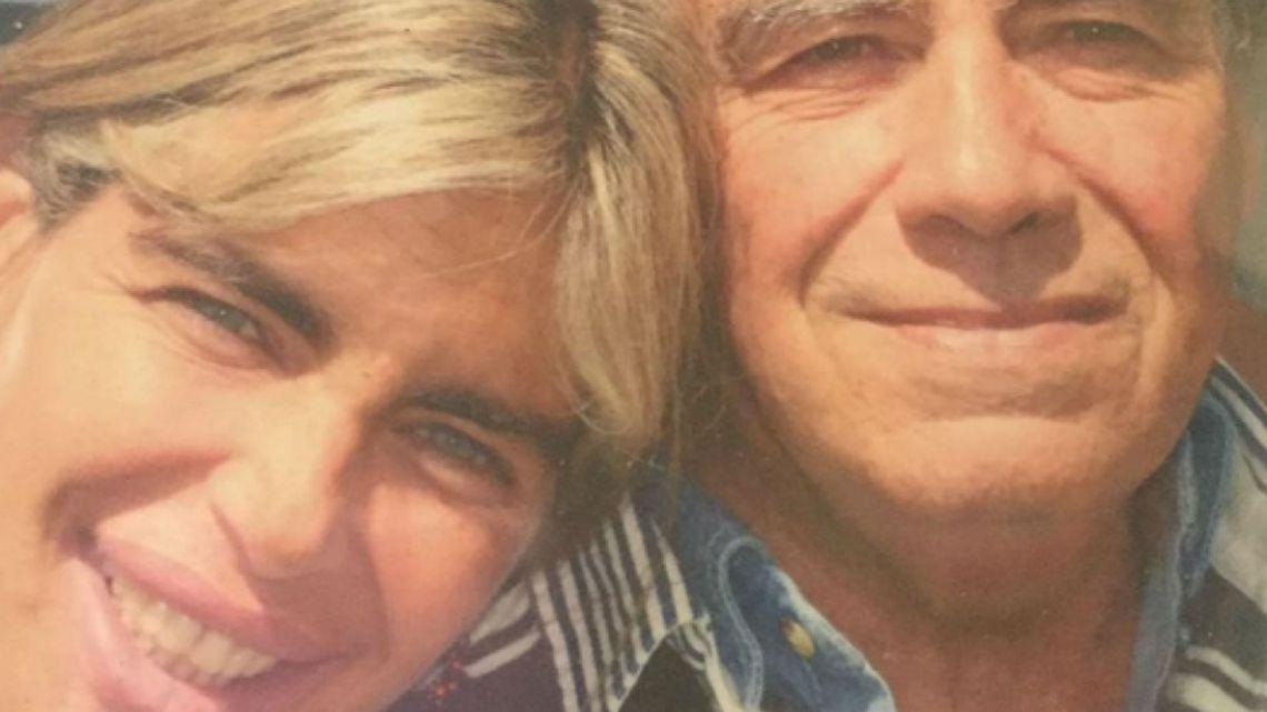 Falleció Miguel el padre de la ex modelo Raquel Mancini a sus 84 años