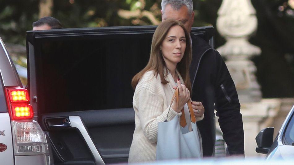 La gobernadora, María Eugenia Vidal.