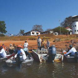 Base naval R. D. Gutiérrez, donde comenzamos la navegación y la pesca.