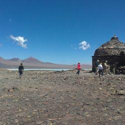 Refugio de la laguna utilizado desde el Siglo XIX.