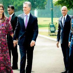 El Presidente junto a Juliana Awada en Indonesia