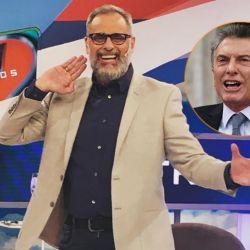Jorge Rial y Mauricio Macri