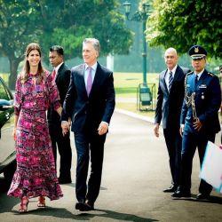 Juliana Awada enloqueció al mundo con sus looks para la visita oficial en  Indonesia