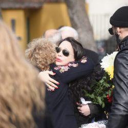 La Coca Sarli fue despedida por sus familiares en el cementerio