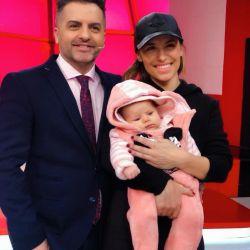Mariana Brey presentó oficialmente a su hija Juana en LAM