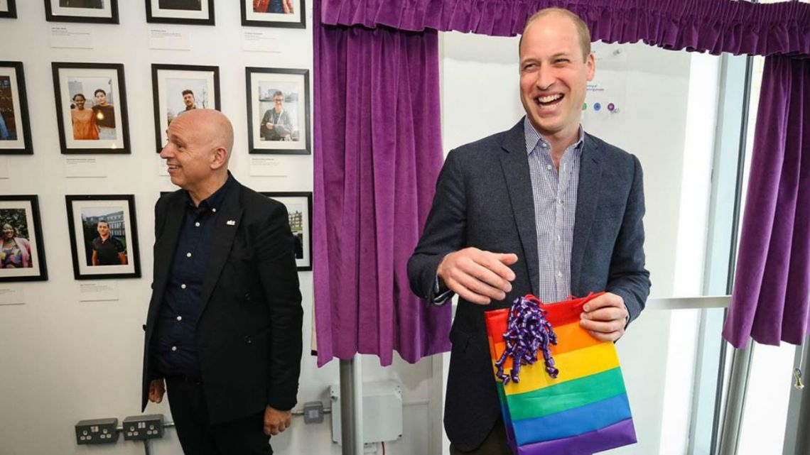 El príncipe William y la comunidad LGBTQ+