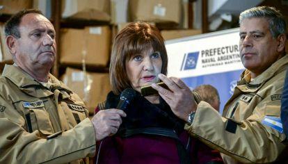 """""""Estamos hablando de unas mil armas que se armaban aquí, en la Argentina"""", comentó la ministra de Seguridad, Patricia Bullrich"""