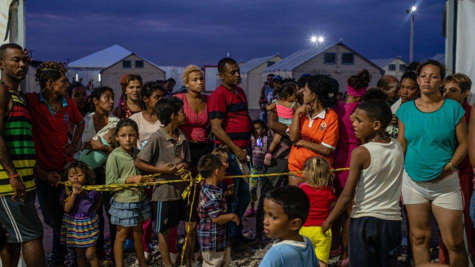 Venezuelan Meltdown Drives Refugees To U.N. Tents In The Desert