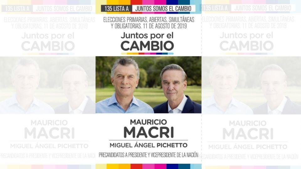 elecciones2019-boleta-mauricio-macri-miguel-angel-pichetto