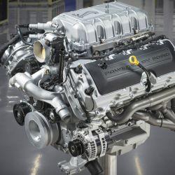El nuevo Ford Mustang Shelby GT500 cuenta con un motor V8 5.2 sobrealimentado de 760 caballos.