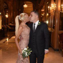 Las mejores fotos del casamiento de Fabián Doman