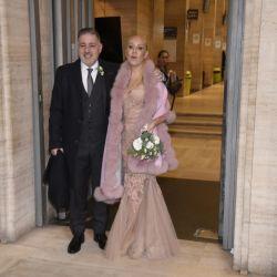 Las mejores fotos del casamiento de Fabián Doman y María Laura