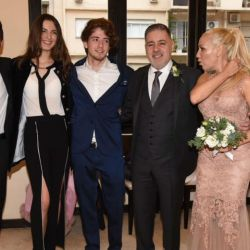Todos los detalles del casamiento de Fabián Doman y María Laura de Lillio