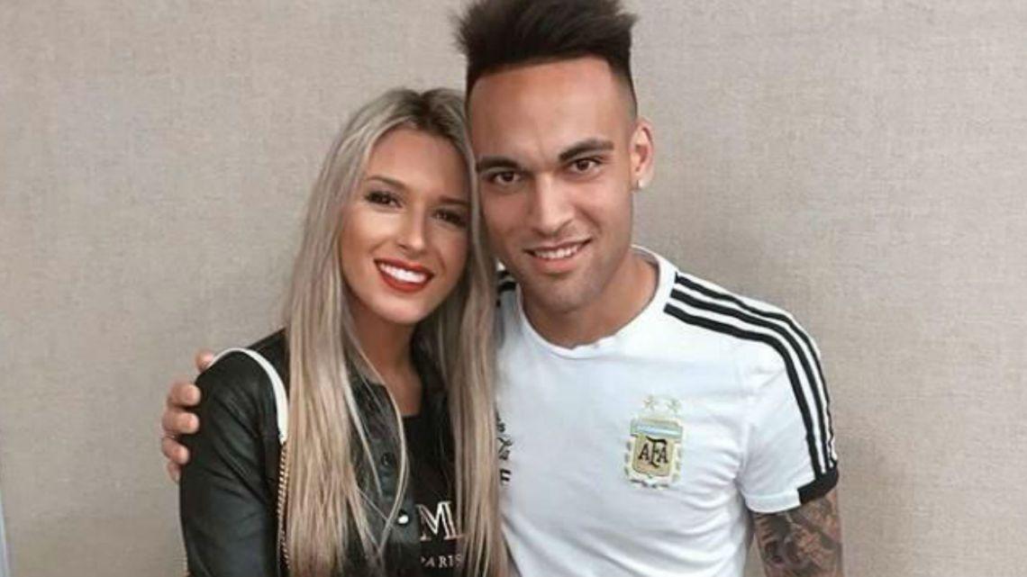 Conocé a la novia diosa de Lautaro Martínez el goleador de la Argentina