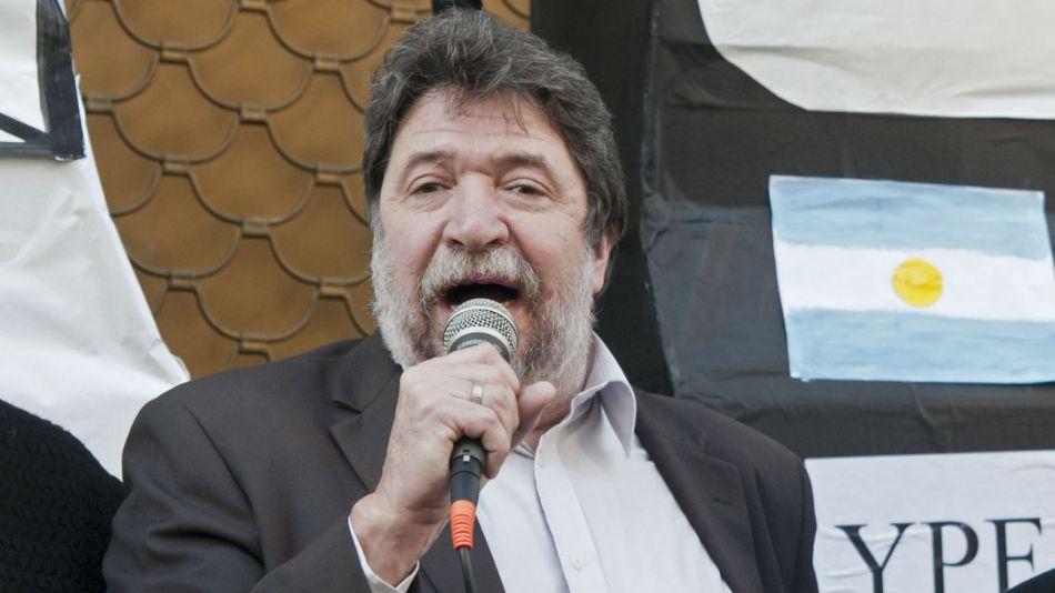 El dirigente de Unidad Popular, Claudio Lozano.
