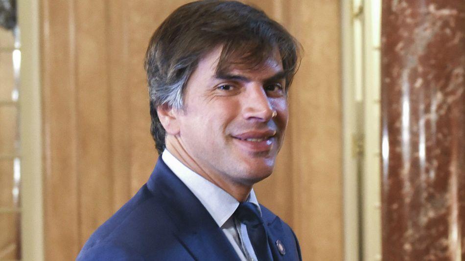Reyser, secretario de Relaciones Internacionales.