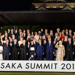 El look de Juliana Awada para la cena de líderes en Japón