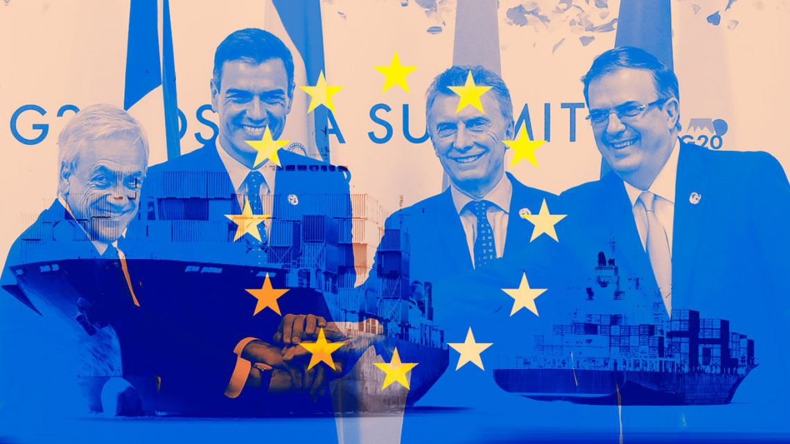 A historic trade deal between the EU and the Mercosur.