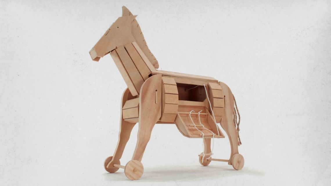 The unexpected Trojan horse.