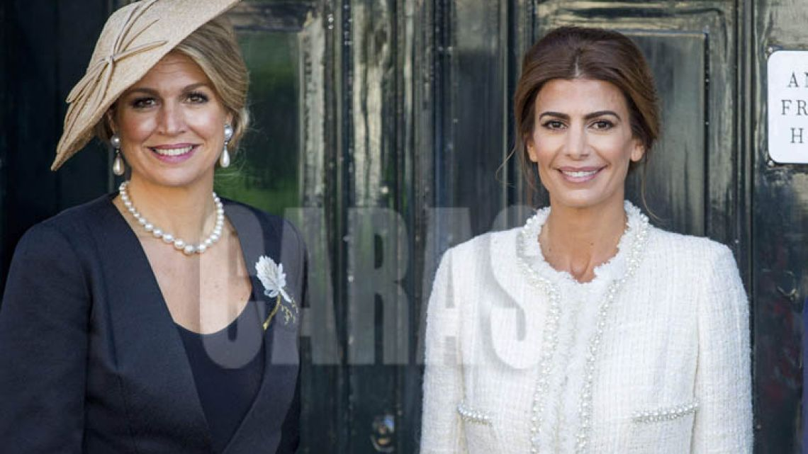 Juliana Awada y La Reina Máxima, dos argentinas que dan cátedra de estilo en Japón