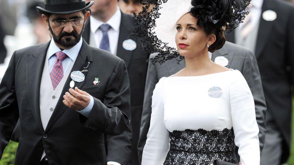 El Emir de Dubai tiene seis esposas: la más joven es la jordana Haya bint Hussein.