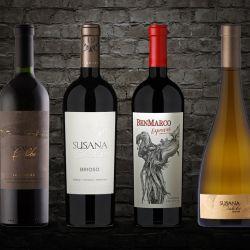 Caja Delirio compuesta por cuatro vinos de Susana Balbo.