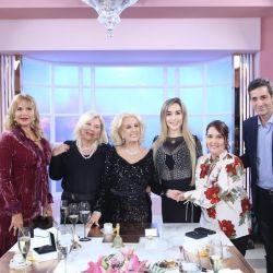 Lilita Carrió cambió de look y se ganó los elogios de Mirtha Legrand
