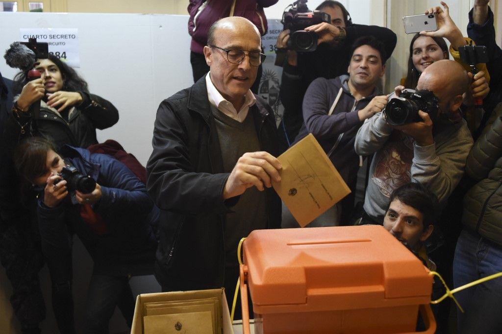 El candidato oficialistaMartínez aparece cómodamente en el primer lugar con 40%.