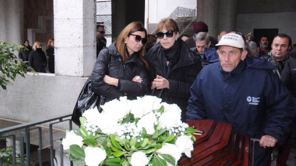 El desconsuelo de Anabela Ascar tras la muerte de Héctor Ricardo García
