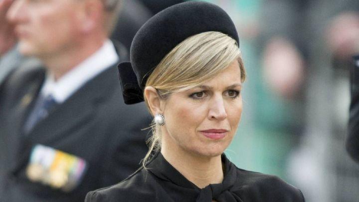 Máxima de Holanda golpeada por una trágica muerte