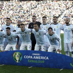 CORRECTION Brazil Soccer Copa America Argentina Chile
