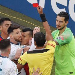 Brazil Soccer Copa America Argentina Chile