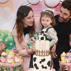 El glamoroso cumpleaños de Alma la hija de Mariano Martínez y Camila Cavallo
