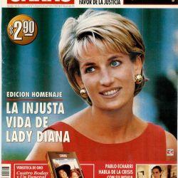 Lady Di en la portada de CARAS