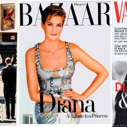 Lady Di en las portadas del mundo.
