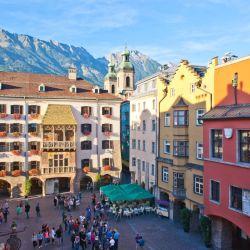 El Tejado Dorado es el símbolo por excelencia de Innsbruck