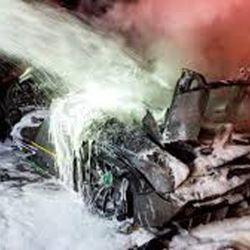 McLaren Senna incendiado de Salomundo