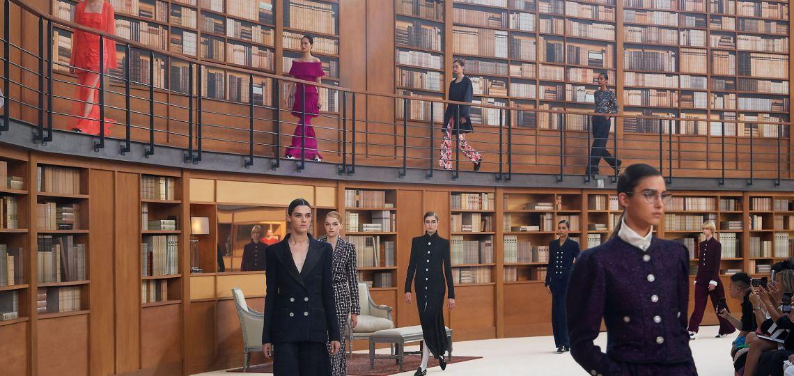 El impactante desfile de Chanel
