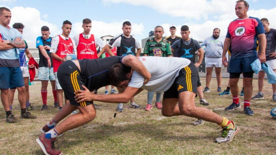 Gladiadores, el equipo de Rugby de los presos